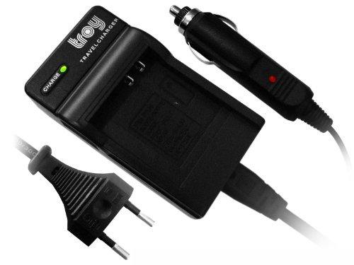 Troy Kompakt-Ladegerät für Sony DSC-TX100 TX100V NP-BN1