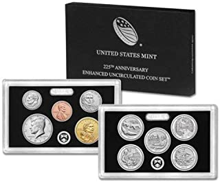 225th anniversary enhanced uncirculated set