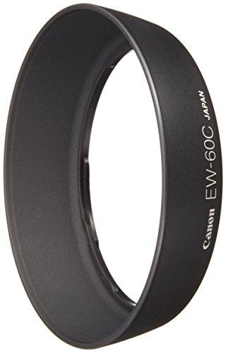 Canon EW-60C - Parasol para objetivos Canon EF 18-55mm f/3.5-5.6, II, III, IV, V, negro