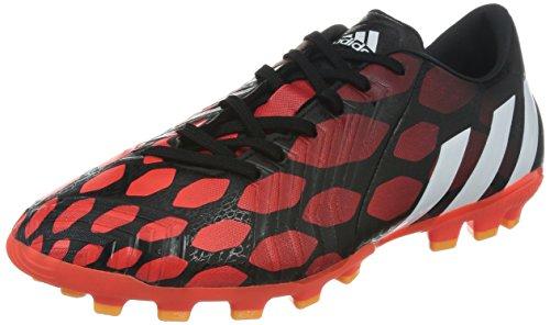 adidas P Absolado Instinct AG Herren Fußballschuhe, Schwarz (core black/core white/solar red), 42 2/3 EU (8.5 )