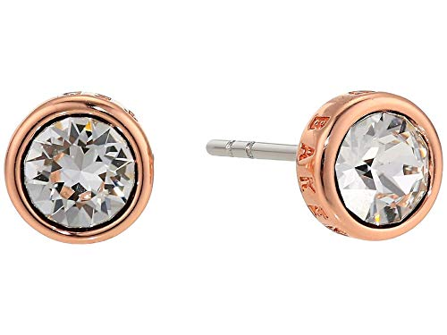Ted Baker Sina Crystal Stud Earrings, Rose Gold/Clear