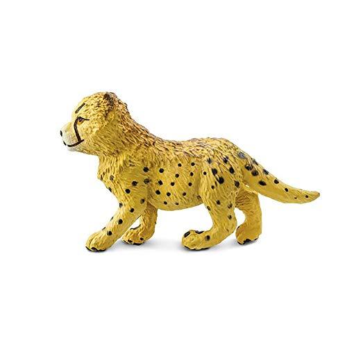 Plastoy - 2720-29 - Animal - - Estatuilla del bebé del Guepardo