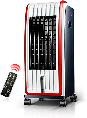 Tragbarer Ventilator, Lüfter abnehmbar, hohe Kapazität Belüftung und Befeuchtung und Klimaanlage, Zentrales Weiß 70.8x33x38cm
