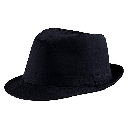Dress Up America Schwarze Fedora Hut Erwachsene