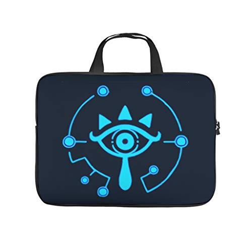 Zelda-Eye Laptop Case Bag Water-Resistant Laptop Bag Case for Computer Notebook MacBook Cartoon White 15 Zoll