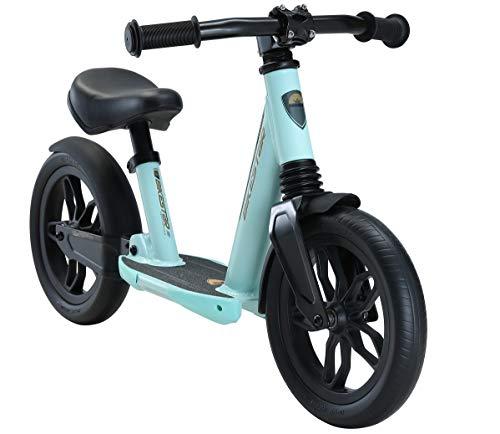 BIKESTAR Bicicleta sin Pedales Aluminio para niños y niñas   Bici suspensión Completa 10 Pulgadas a Partir de 2-3 años   10