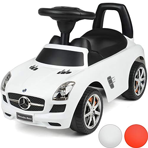 ToyStar Kids Ride On Mercedes Benz Car With Sound Effects Licensed For 2+ Years Old