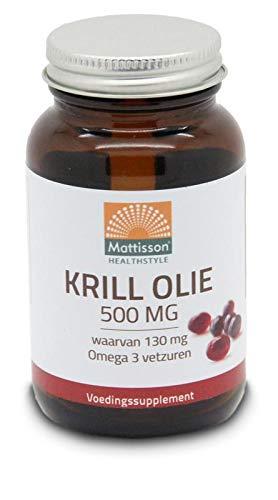 Mattisson Krill Oil 500 mg - 60ca