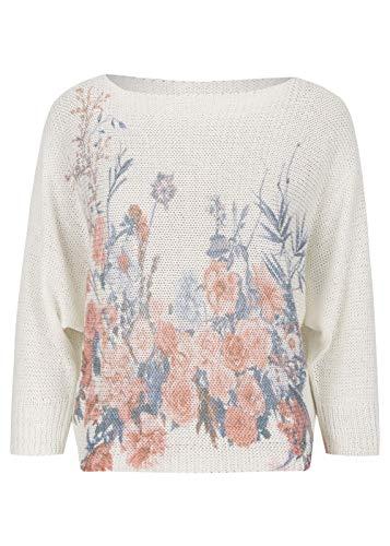 HEIMATLIEBE Oversize Pullover geblümt