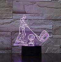3DナイトライトランプタッチLED7色変化センサー