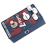 Effect Pedal, Sturdy Shell Modulation Effect Aluminum Alloy Shell for Home for Club