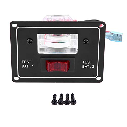 %10 OFF! 12V Battery Voltage Tester, Dual Tester For Car And Ships Battery Test Switch