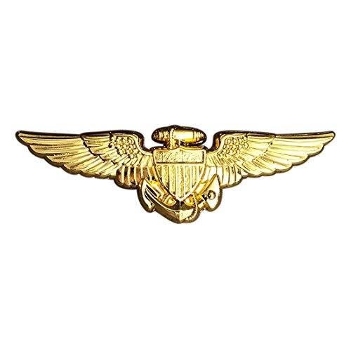 Miltacusa Top Gun Movie USA Navy Pilot Aviator Wings Jacket Vest PIN
