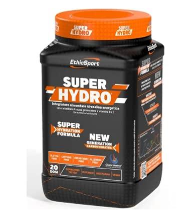 EthicSport - Super Hydro - Barattolo da 500 g - Gusto: Limone - Integr