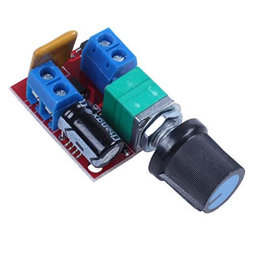 OVBBESS Motor PWM controlador de velocidad 3 V 6 V 12 V 24 35 V DC 90 W 5a motor control de velocidad interruptor LED regulador