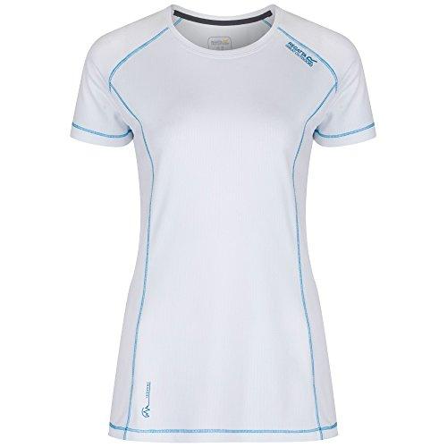 Regatta Great Outdoors - Virda - Maglietta a maniche corte - Donna (58) (Bianco)