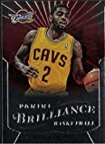 2012-13 Panini Brilliance - Kyrie Irving - Starburst/SP SHORT PRINT- NBA Basketball Rookie Card - RC Card #260