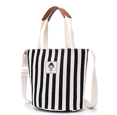 WangXL Grote tas voor vrouwen, canvas-tas voor strand, zomer, schoudertas