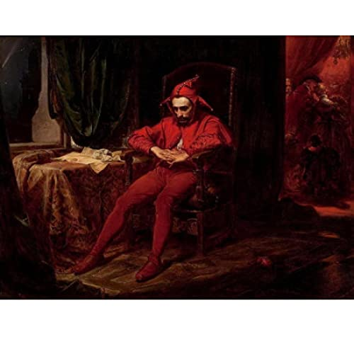 Jan Mateko Stancik Griser Kunstdruckplakat Home Wanddekor Leinwand Bildplakat Charakterplakat Leinwanddruck Kunstdekoration-50x70cmx1pcs -No Frame
