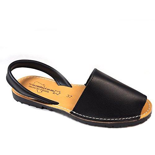 Sandalias Menorquinas Negro - Color - Negro, Talla - 37
