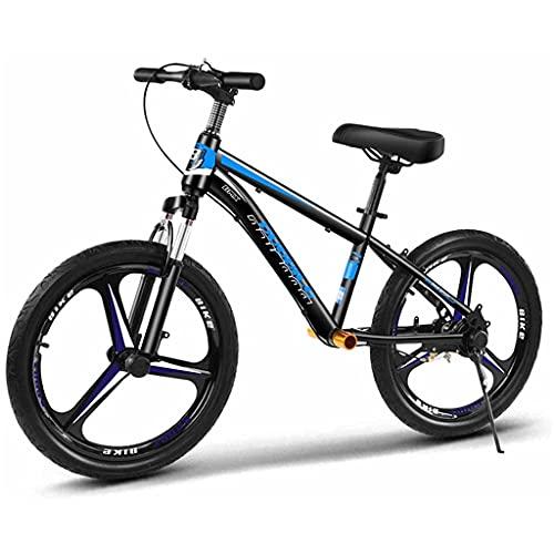 Bicicleta Sin Pedales Bicicleta de balance de 16 pulgadas / 20 pulgadas con frenos, bicicleta portátil grande sin pedal para niños grandes / años adultos de 5 a 15 años, asiento ajustable, soporte has