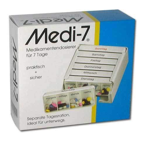 Medi 7 Medikamentendosierer f. 7 Tage Medikamentendispenser