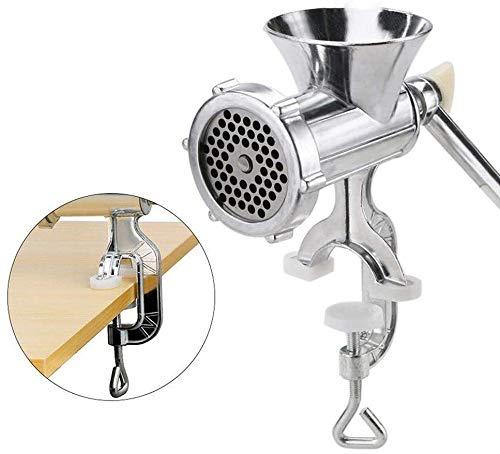 Manual Meat Grinder, Manual Corn Grinder Flour Maker Home Kitchen Tool for...