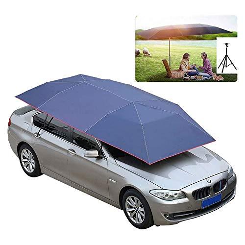 YUTRD ZCJUX Carpa de Cubierta de Coche automática Completa portátil con Control Remoto Parasol de Coche sombrilla Cubierta de Techo Kits de protección UV