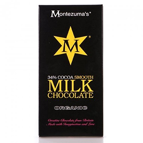by Montezumas Chocolate Montezumas Chocolate Org Smooth Milk Bar 100G