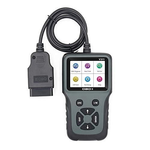 GEKER OBD2 Auto Diagnostica Dispositivo di Diagnostica Automatica Leggi Elimina Dispositivo Lettore Scanner Codici Errore OBDII dell automobile Motore Diagnostica