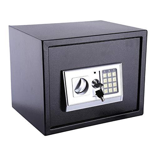 Pwshymi Bisagras internas a Prueba de manipulaciones Construidas con Cerradura de Seguridad de Acero Macizo Grueso Caja de Almacenamiento de Caja Fuerte Digital Caja Fuerte de contraseña