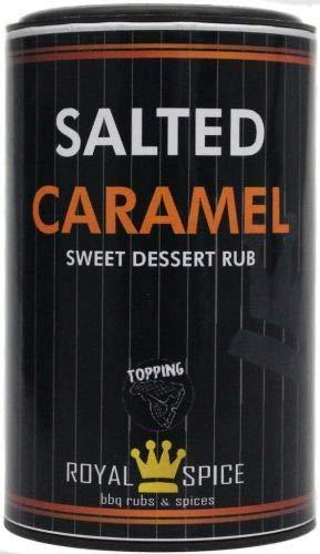Salted Caramel, gesalzener Karamell Rub für Desserts und Co, 120g Dose von Royal Spice