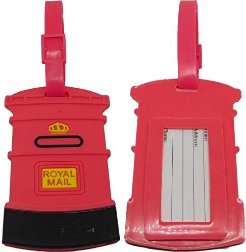 Briefkasten Post Box Bag Kofferanhänger Reisetasche Tasche Anhänger Adresse Reise