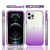 Coque de téléphone portable RZL pour iPhone 13 Pro Max 5G, coque arrière en cristal 360 °, coque...