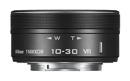 Nikon 1 Nikkor - Objetivo para cámara (SLR, VR 10-30mm f/3.5-5.6 PD-Zoom, 9/7, 5.8 cm), Color Negro