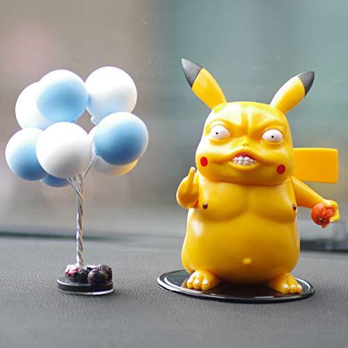 Autodekoration Autodekoration Elender Pikachu + blaue weiße Kugel + kleiner runder Block