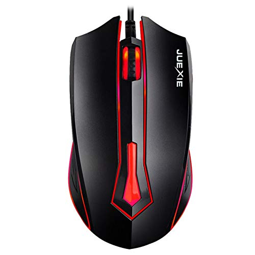 Peanutaoc Professionele Wired Gaming Mouse LED Optische USB Computer Muis Gamer Muizen Game Muis Stille Muis Voor PC