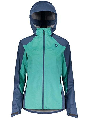 Scott Trail MTN Dryo 20 Damen Fahrrad Wind/Regenjacke blau/grün 2018: Größe: M (38/40)