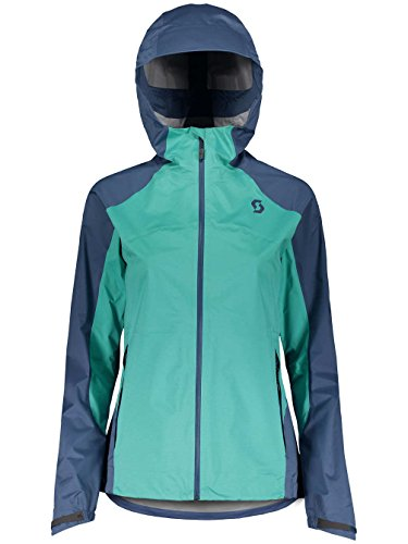 Scott Trail MTN Dryo 20 dames fiets wind/regenjas blauw 2018