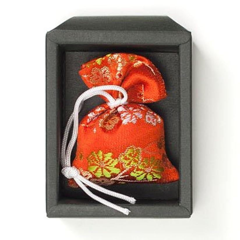 呼吸ピルファーセットする匂い袋 誰が袖 極品 1個入 松栄堂 Shoyeido 本体長さ60mm (色?柄は選べません)