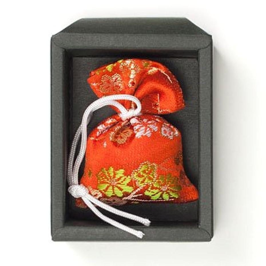 リール伝染性メトリック匂い袋 誰が袖 極品 1個入 松栄堂 Shoyeido 本体長さ60mm (色?柄は選べません)