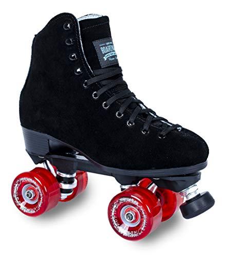 Boardwalk Black Outdoor Roller Skate - Red Motion (Mens 6 - Womens 7)