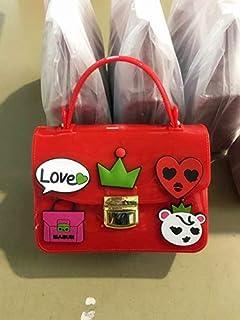 Adebie - Flap Summer Shoulder Bags Sweet Jelly Cartoon Women Cute High Quality Handbags Famous Brand Small 2019 Crossbody Messenger Bags Red []