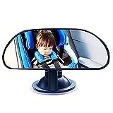 Buen desempeño Interior ajustable Interior Retrovisor Retrovisor Rotación de rotación Succión Espejos Bebé Asiento trasero Coche Vista de bebé Espejo Partes interiores Materiales duraderos
