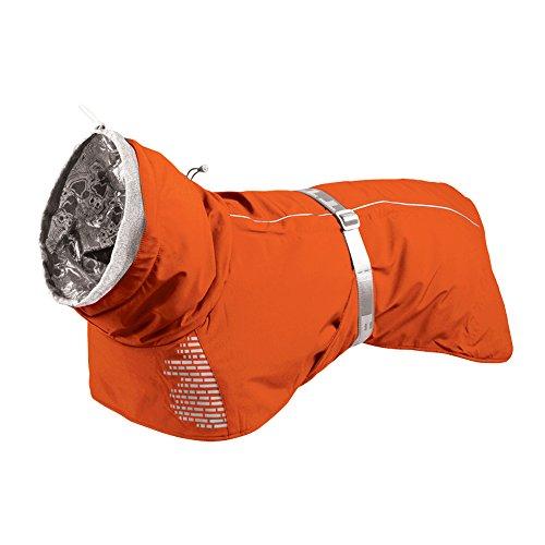 Hurtta Extreme Warmer Dog Winter Jacket, Orange, 16 in