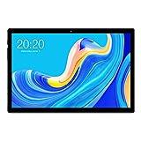 TECLAST Tablet 10,1 Zoll, 2,0 GHz Octa-Core-Prozessor, 6 GB RAM 128 GB ROM, bis zu Skalierbar 512 GB TF-Karte, Tabletcomputer Android 10 Gesten Touch, 5 MP + 8 MP Kamera,1920×1200 HD, 6000mAh Akku-M40