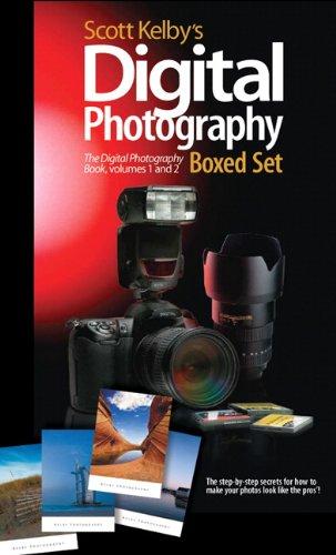 Scott Kelby's Digital Photography Boxed Set, Volumes 1 and 2 (Includes The Digital Photography Book Volume 1 and The Digital Photography Book Volume 2)