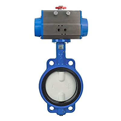 "Bonomi DAN500N butterfly valve with double acting actuator 6"" by Bonomi"