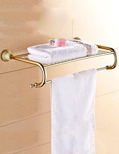 Extrem feste Duschregal Mode Trend Regale Europäische Vollkupfer Handtuch Rack Badezimmer Racks Qualität sichern
