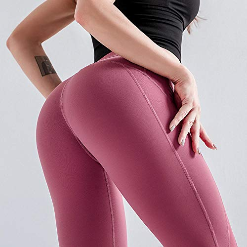 RRUI Vrouwen Leggings Sport Panty & Leggings Strakke hippe broek vrouwen sportkleding sneldrogende running stretch Lycra bijgesneden broek hoge taille was dun yoga donkerblauw M